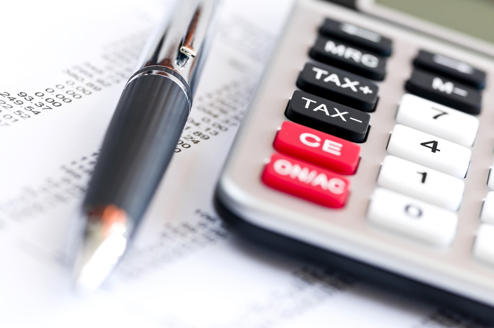 Calculating numbers for tax